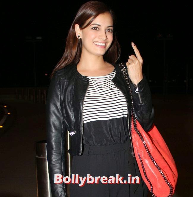 Dia Mirza, Parineeti Chopra, Sonam Kapoor & Other Celebs Set Out For IIFA 2014