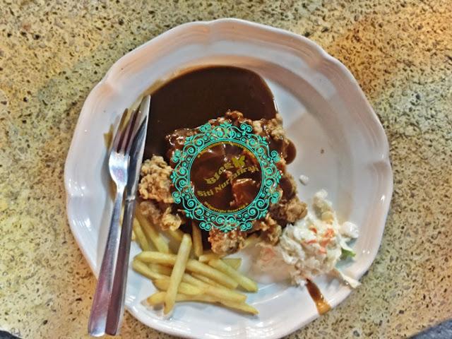 Pak Mat Western, chicken chop murah dan sedap, lamb grilled, juru, kedai makan viral, kedai makan sedap, kedai makan best,