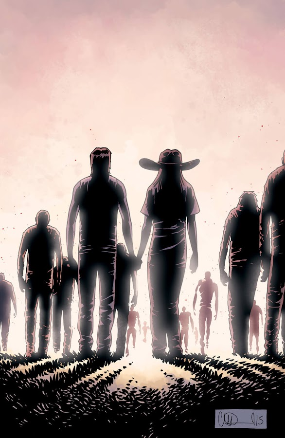 the walking dead comics whisperers war