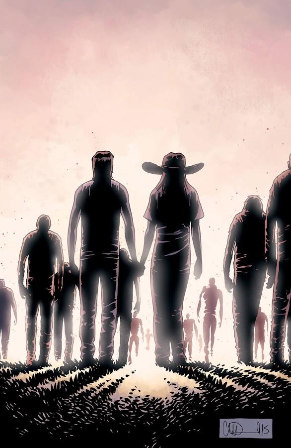the walking dead comics whisperers war