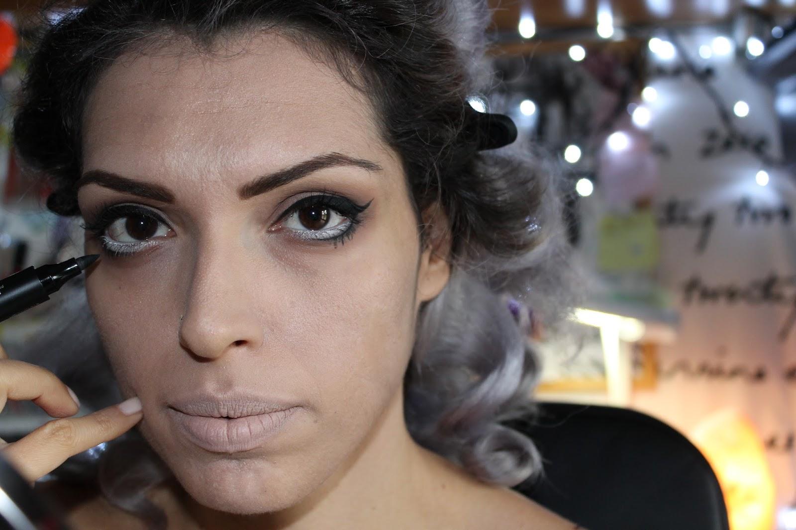 halloween make up tutorial 1