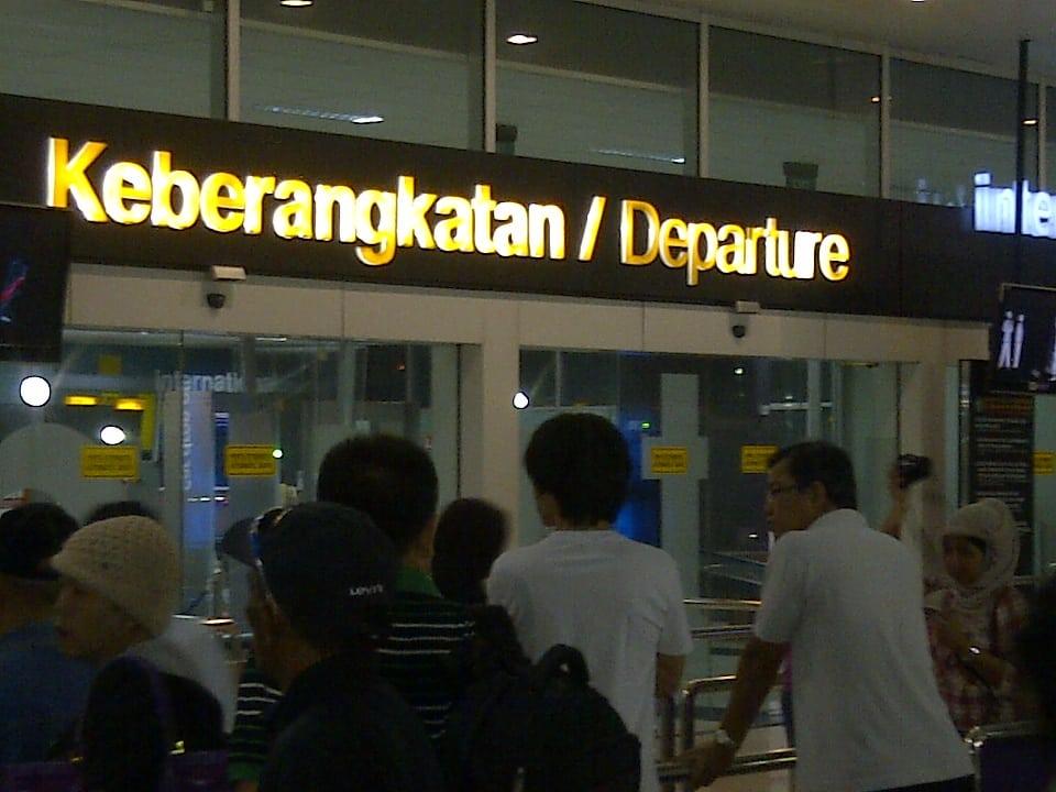terminal keberangkatan bandara