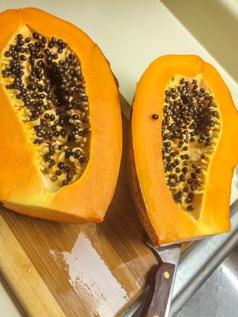 es facil tomar semillas de los frutos