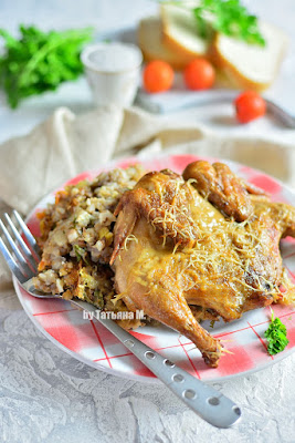 Цыпленок корнишон рецепт