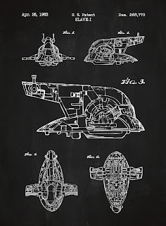 Starwars - blueprint Esclave 2