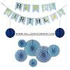 Contoh Dekorasi Pesta Ulang Tahun Tema Biru Minimalis