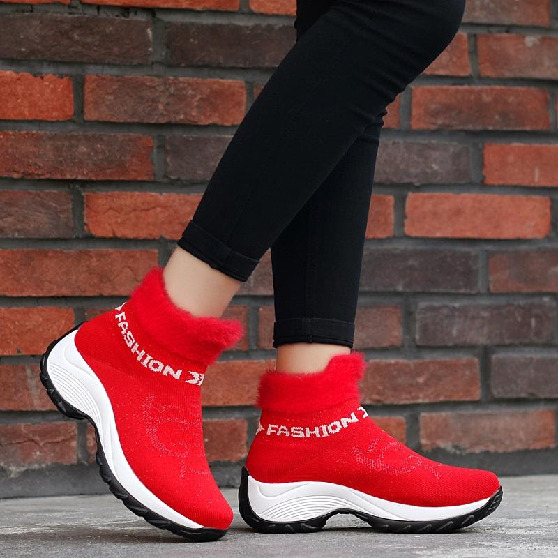 Women's Winter Ankle Gym Shoes