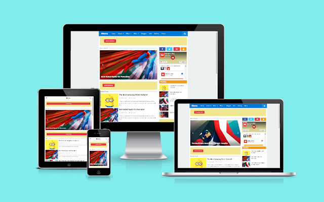 Mocca Responsive Blogger Redesign by Namina