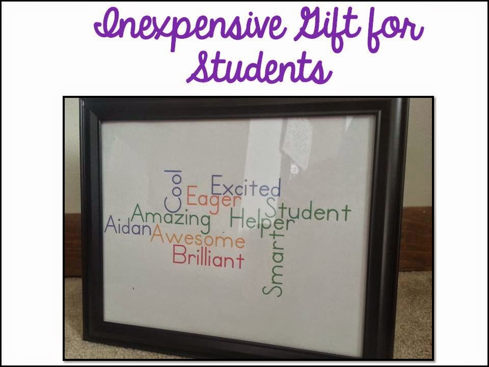 End of the year gifts for students- inexpensive ways to gift give at the end of the year