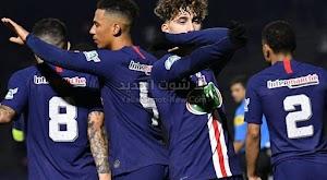 باريس سان جيرمان يحقق فوز كاسح على فريق لينا مونتليري ويتاهل لدور ال 32 من كأس فرنسا