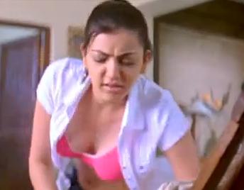 Kajal Agarwal Open Shirt