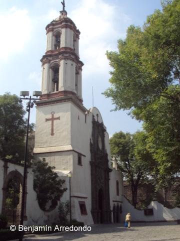 Ex convento de San Felipe y Santiago el Menor en Azcapotzalco