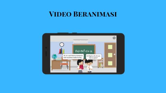 Video Beranimasi Ruangguru