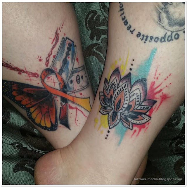 Drug Addiction Recovery Tattoos