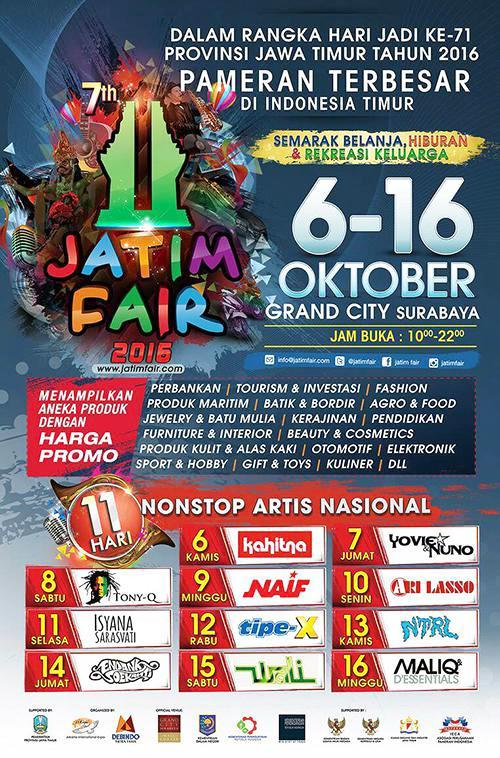 Jatim Fair 2016