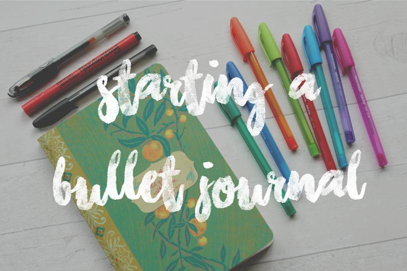 Bullet Journal - Magazine cover
