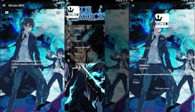 BBM Mod Anime Exorcist V3.0.1.25 Apk