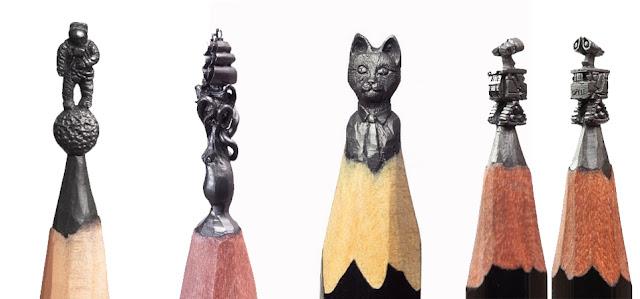 Восхитительные скульптуры из грифеля карандаша Салавата Фидая (Salavat Fidai) - DayDreamer Blog