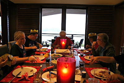 Christmas Dinner, 2012 - Rose Bay