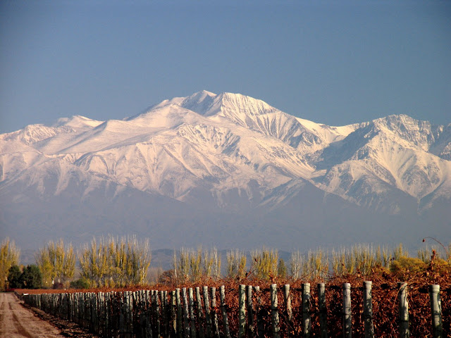Montanhas e vinícolas de Mendoza, Argentina