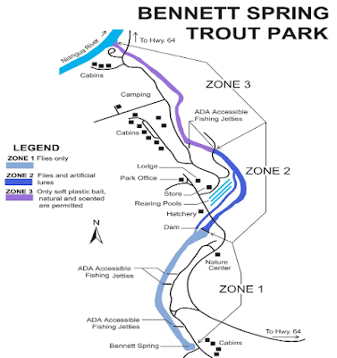 Bennett Spring Map