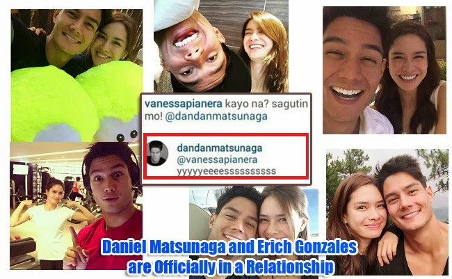 Daniel Matsunaga and Erich Gonzales are Officially in a Relationship