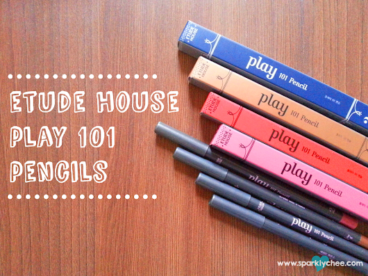 Review: Etude House Play 101 Pencil #12, 26, 35 & 47