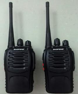Penyewaan Radio Walkie Talkie Baofeng BF-888S