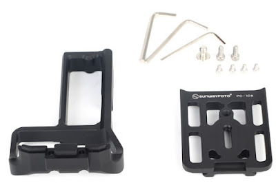 Sunwayfoto PCL-1DX Custom L Bracket  components
