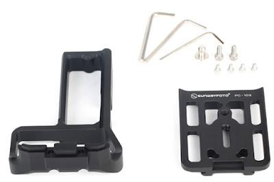 Sunwayfoto PCL-1DX Custom L Bracket  components