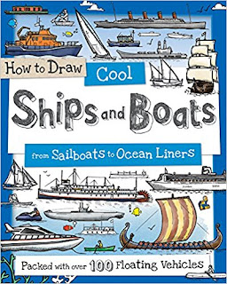 How to Draw Cool Ships and Boats: From Sailboats to Ocean Liners