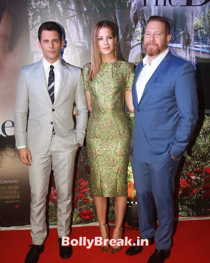 James Marsden, Michelle Monaghan, Ryan Kavanaugh, 'The Best of Me' Premiere Photos