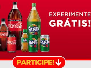 Promoção Coca-Cola Experimente Grátis 2019