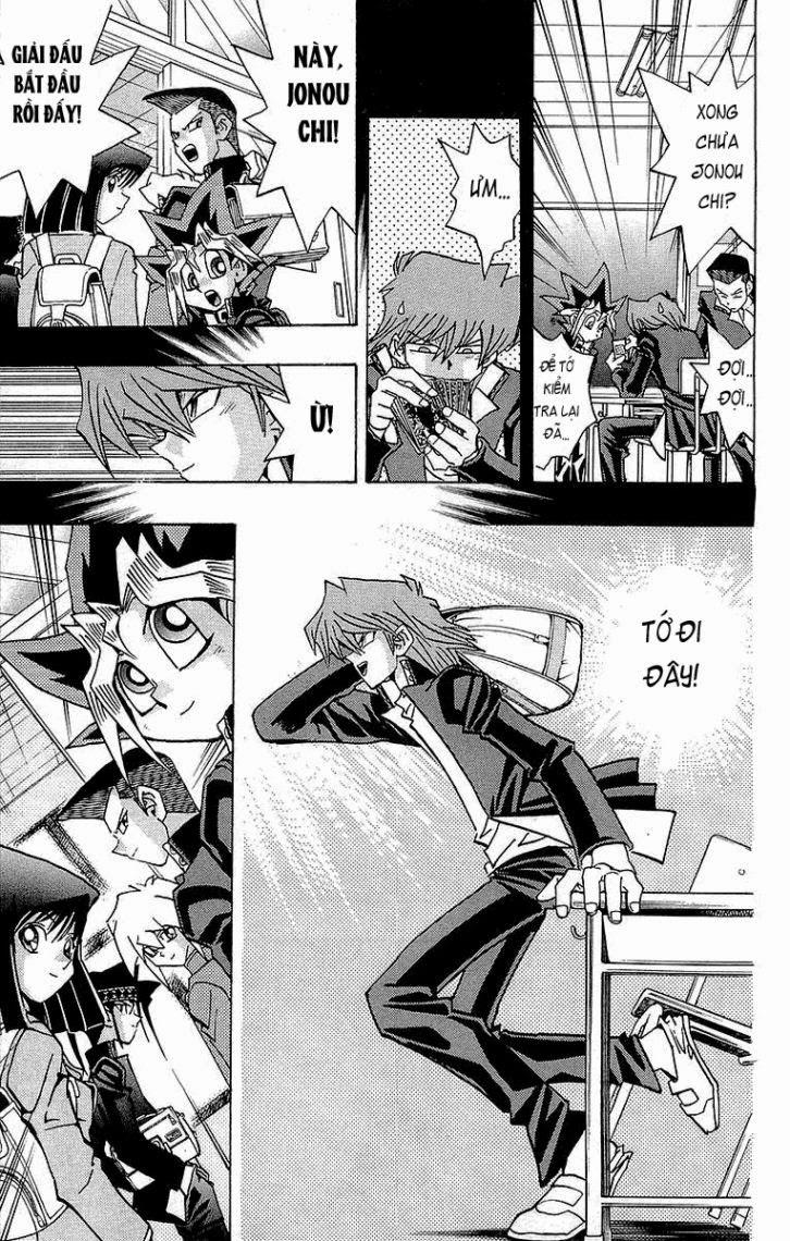 YUGI-OH! chap 217 - bóng tối thức tỉnh trang 8