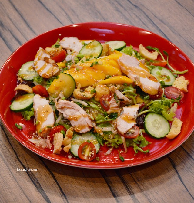 Mango, Chicken & Jicama Salad - (RM9.80 Small RM14.80 Regular)