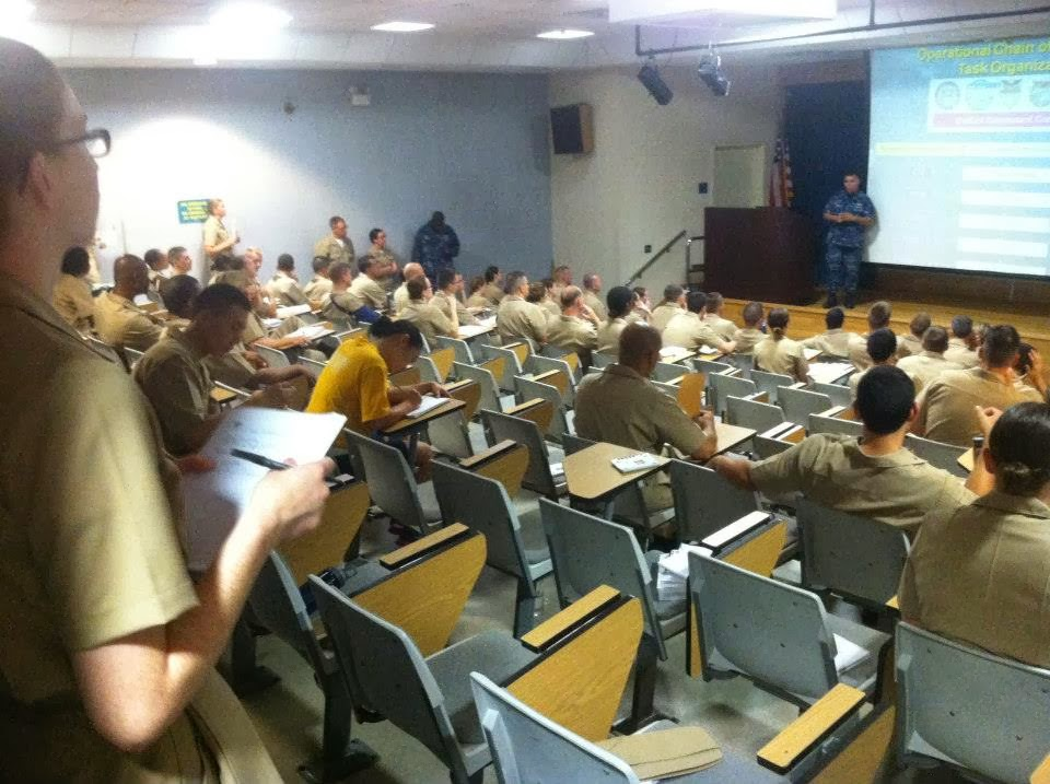 A Road to the Sea: My Experience at ODS (Officer Development School)