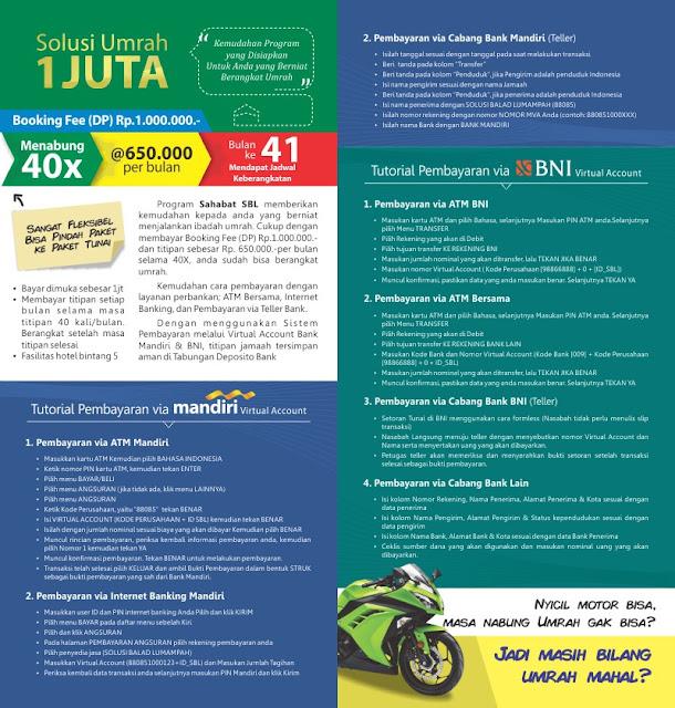 Harga Umrah Per-Juni 2016 (JAKARTA)