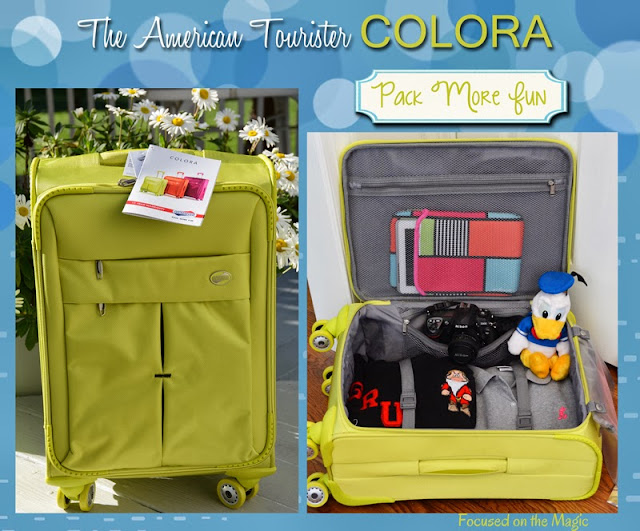 American Tourister COLORA Review #packmorefun