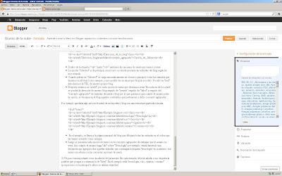 Resultado de imagen de menu  blogger etiquetas