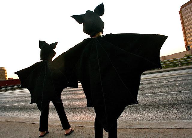 Disfraz casero de murciélago muy fácil