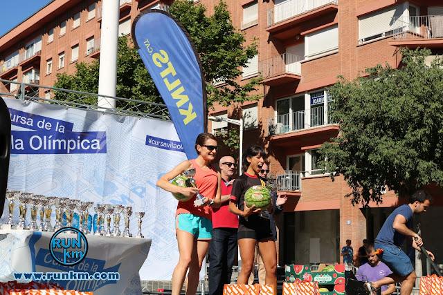 Podio Femenino 5K - Cursa Vila Olímpica 2017