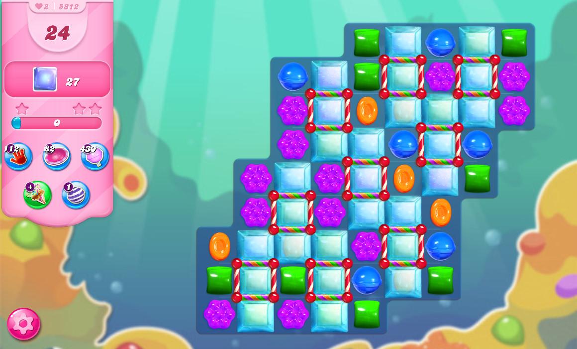 Candy Crush Saga level 5312
