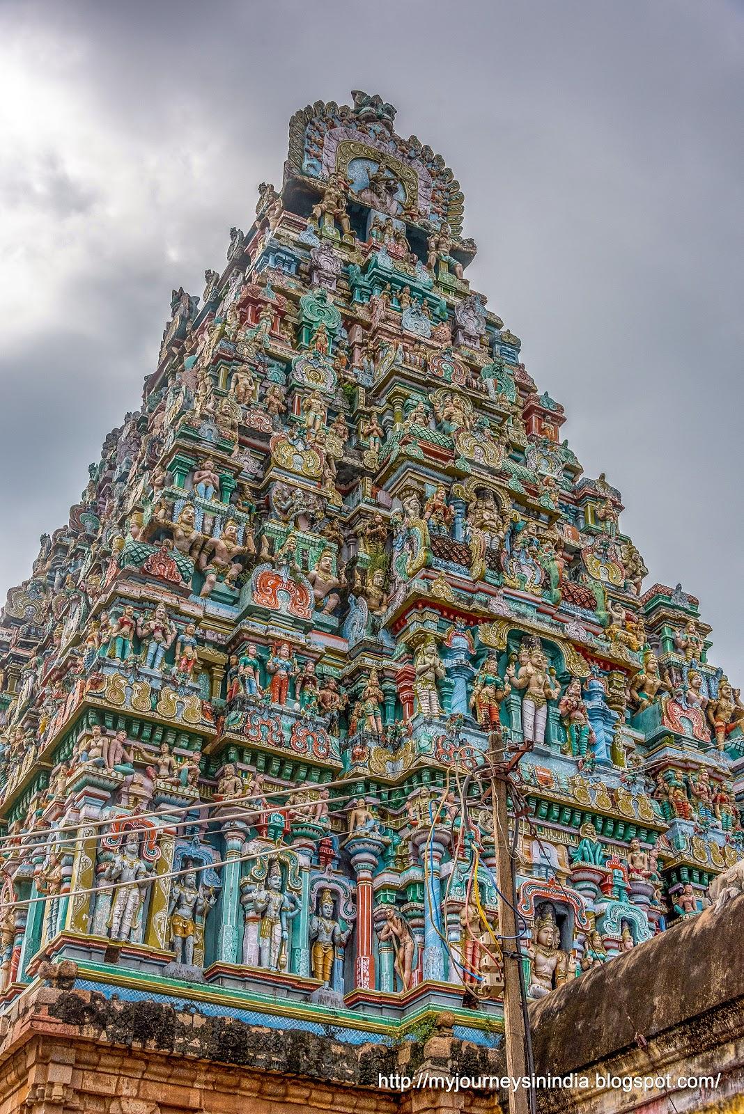 Pateeshwaram Thenupuriswarar Temple Side View