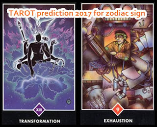 TAROT prediction 2017 for zodiac sign Aries to Scorpio