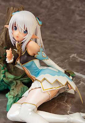 "Figuras: Imágenes de  Altina, Elf Princess of the Silver Forest del videojuego ""Blade Arcus From Shining EX"" - AQUAMARINE"