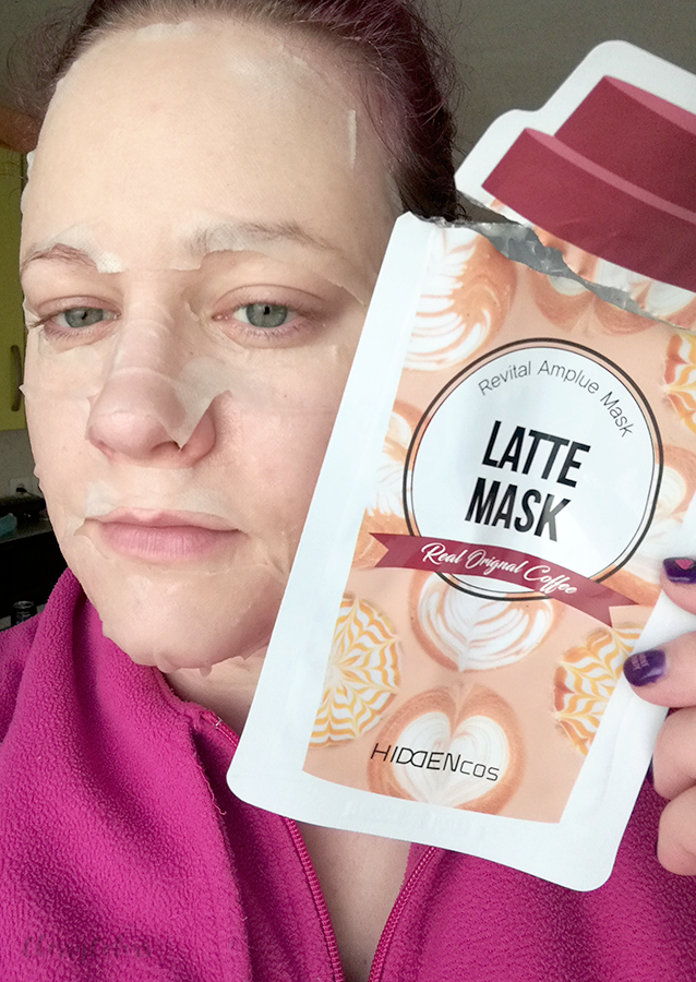 HIDDENCOS LATTE MASK