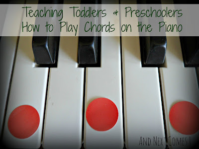 how to teach piano to preschoolers teaching toddlers amp preschoolers how to play chords on the 25112