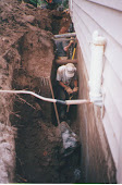 Muskoka Exterior Basement Foundation Waterproofing Repair Muskoka dial 1-800-334-6290
