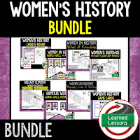 Women's History Month Resources Bundle