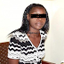 Photo of woman arrested for aborting her 6-month-old baby